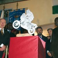 Trofeo dedicato a Fabrizio Meoni. 2005, Castiglion Fiorentino. Intitolazione Palazzetto dello Sport