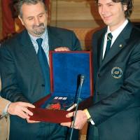 Trofeo Guido Berlucchi 2006. Secondo classificato al Concorso nazionale Miglior Sommelier d'Italia. Amm. Prov. Arezzo