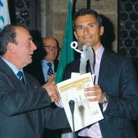 CONI – Giornata Olimpica Provinciale. Trofeo a Daniele Bennati, Atleta dell'Anno 2006, Arezzo