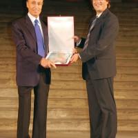 Cortonantiquaria 2006. Trofeo donato a Renato Balestra