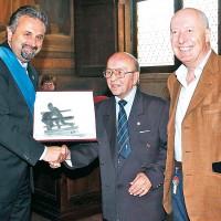 50° festeggiamento a Mario D'Agata per la conquista del Titolo Mondiale Pesi Gallo. 2006, Arezzo