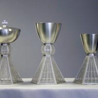 Vasi sacri in argento, donati a Papa Benedetto XVI, 2013