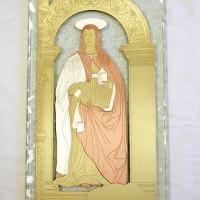 Tratto da affresco di Santa Maddalena di Piero della Francesca